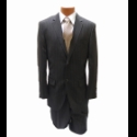 BROWN PINSTRIPE 2-BUTTON SUIT Thumbnail
