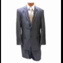 BLUE STRIPE 2-BUTTON SUIT (SHINY) Thumbnail