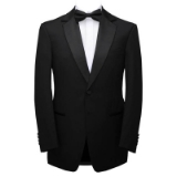 10.CARLO LUSSO REGULAR FIT BLACK SOLID TUXEDO Thumbnail
