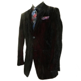 25. RED/BLACK VELVET PARTY SPORTCOAT Thumbnail