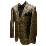 03. GOLD/BLACK LEOPARD PARTY SPORTCOAT Thumbnail