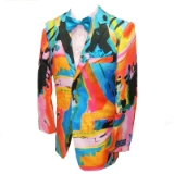 21. MULTICOLORED FLORAL PRINT SPORTCOAT Thumbnail