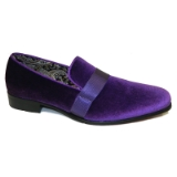 22. PURPLE VELVET SHOE WITH SATIN RIBBON Thumbnail