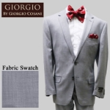28.GIORGIO LT.GREY SOLID CASHMERE/WOOL MODERN Thumbnail