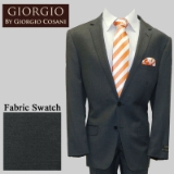 27.GIORGIO CHARCL SOLID CASHMERE/WOOL MODERN Thumbnail