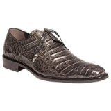 ANDERSON GREY GENUINE CROCODILE MEZLAN SHOE Thumbnail