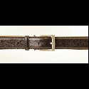 BROWN LEATHER BELT Thumbnail
