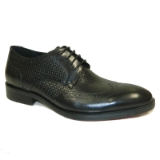 CARLTON BLACK LACE UP SHOE Thumbnail