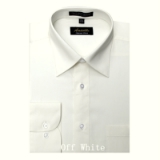 A11.IVORY WRINKLE FREE MENS DRESS SHIRT Thumbnail