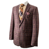 27. BROWN/MULTI PATTERNED PARTY SPORTCOAT Thumbnail