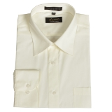 IVORY WRINKLE FREE MENS DRESS SHIRT Thumbnail