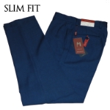 11. NEW BLUE SOLID MENS SLIM FIT PANTS Thumbnail
