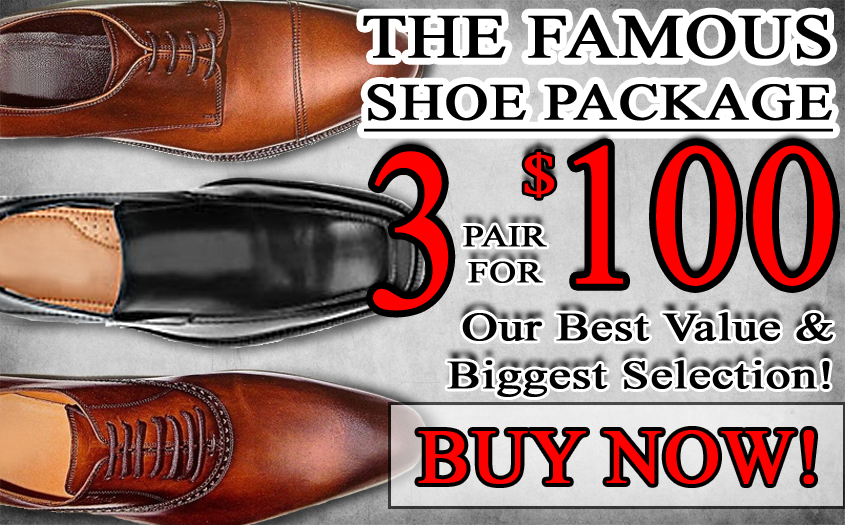3 FOR $100 SHOES - Click here