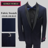 05. INK BLUE BLACK SHAWL LAPEL MODERN FIT Thumbnail