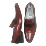 38. CRISPINO COGNAC/BROWN CASUAL SLIP ON Thumbnail