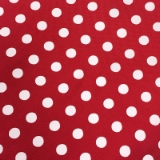 C092. RED/WHITE POLKA DOT TIE & HANKY SET Thumbnail
