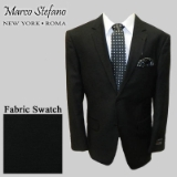 11. BLACK SOLID 2-BUTTON SPORT COAT Thumbnail