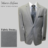 13. LIGHT GREY SOLID 2-BUTTON SPORT COAT Thumbnail
