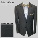 12. CHARCOAL SOLID 2-BUTTON SPORT COAT Thumbnail