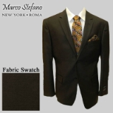 15. BROWN SOLID 2-BUTTON SPORT COAT Thumbnail