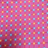 C100. PINK/BLUE SMALL FLOWERS TIE & HANKY SET Thumbnail