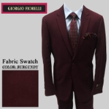 13. BURGUNDY SOLID 2 PIECE 2-BUTTON SUIT Thumbnail
