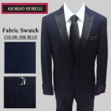 06. INK BLUE BLACK PEAK LAPEL MODERN FIT Thumbnail