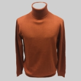 07. COPPER SOLID TURTLE NECK SWEATER Thumbnail