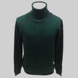 05. HUNTER GREEN SOLID TURTLE NECK SWEATER Thumbnail