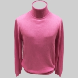 10. PINK SOLID TURTLE NECK SWEATER Thumbnail