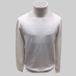 11. WHITE SOLID TURTLE NECK SWEATER Thumbnail