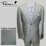 78. FALCONE SILVER MINI STRIPE PARTY SUIT Thumbnail