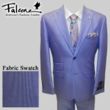 82. FALCONE LAVENDER MINI STRIPE PARTY SUIT Thumbnail