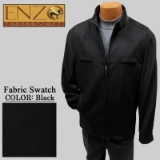 09. BLACK CASHMERE/WOOL SHORT ZIPPER JACKET Thumbnail