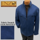 12. FR.BLUE CASHMERE/WOOL SHORT ZIPPER JACKET Thumbnail