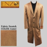 04. CAMEL CASHMERE/WOOL LONG TOP COAT Thumbnail