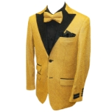 34. GOLD/BLACK GLITTER PARTY SPORTCOAT Thumbnail