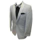 18. SILVER/GREY TONAL PAISLEY PARTY SPORTCOAT Thumbnail