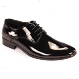 02. BLACK PATENT LEATHER LACE UP FORMAL SHOE Thumbnail