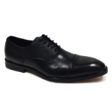 01. BLACK LACE UP CAPTOE SHOE Thumbnail