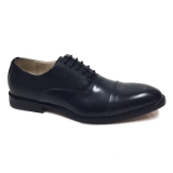 11. NAVY CAP TOE DETAILING LACE UP DRESS SHOE Thumbnail