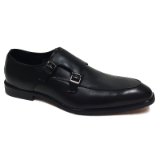 05. BLACK SLIP ON SHOE WITH TWO BUCKLES Thumbnail