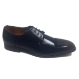 10. NAVY CAP TOE LACE UP DRESS SHOE Thumbnail