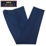 07. CARLO LUSSO FRENCH BLUE SOLID FLAT FRONT Thumbnail