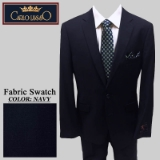 04. NAVY SOLID 2 PIECE 2-BUTTON SUIT Thumbnail