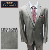 03. LIGHT GREY SOLID 2 PIECE 2-BUTTON SUIT Thumbnail