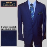 05. INK BLUE SOLID 2 PIECE 2-BUTTON SUIT Thumbnail