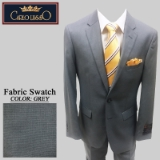 25. GREY SHARKSKIN 2 PIECE 2-BUTTON SUIT Thumbnail