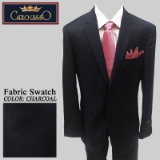 17. CHARCOAL TONAL CHECK 2PIECE 2-BUTTON SUIT Thumbnail