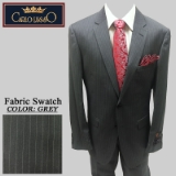 19. GREY PINSTRIPE 2 PIECE 2-BUTTON SUIT Thumbnail